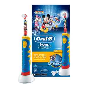 Oral-B Stages Power Mickey brosse à dents électrique rechargeable enfants