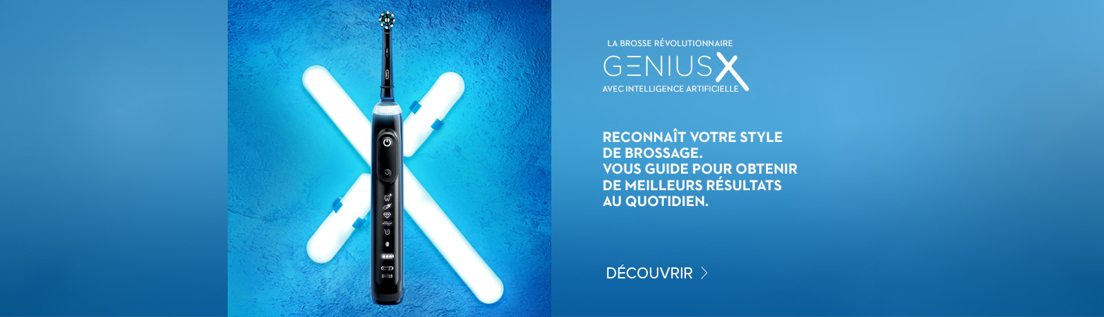 NOUVELLE Genius X INTELLIGENCE ARTIFICIELLE