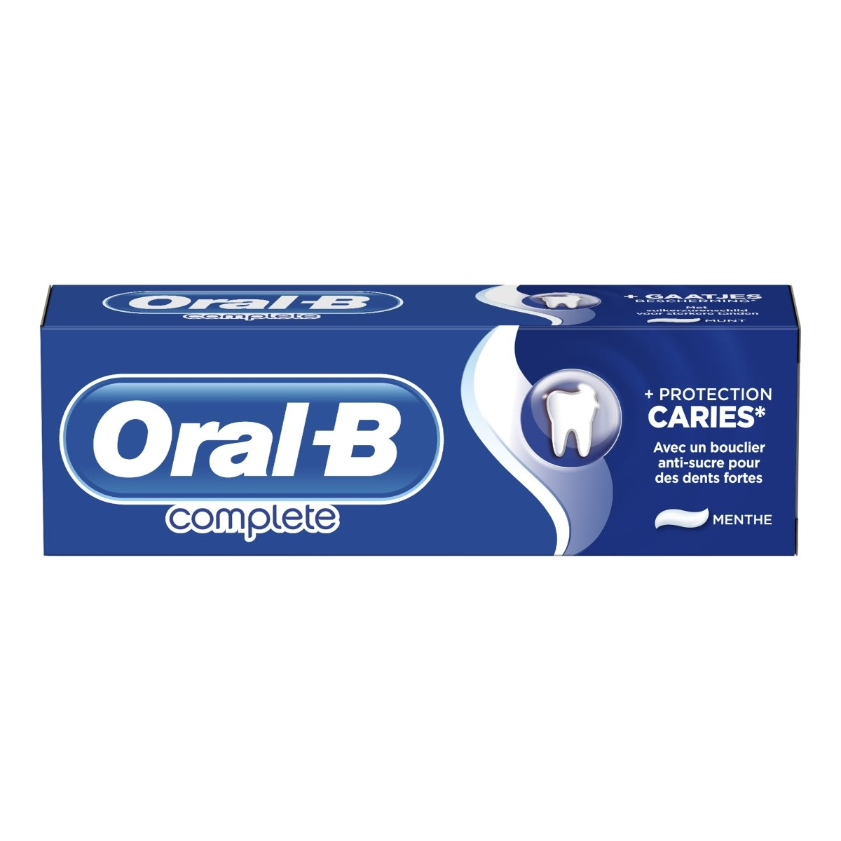 Le dentifrice protection caries Oral-B Complete Plus