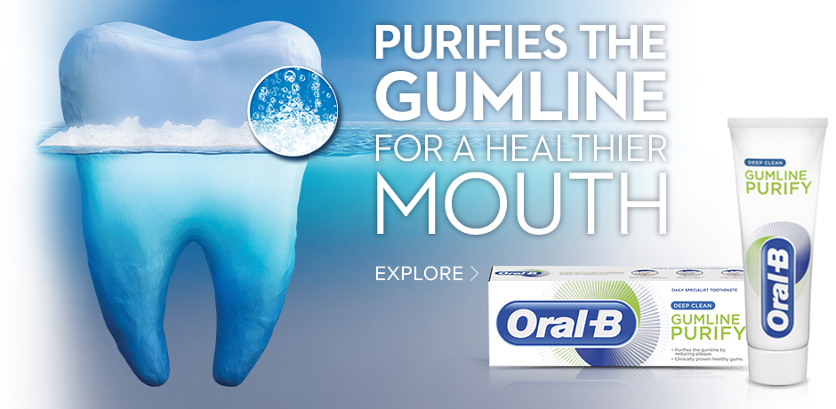 Healthier gums for a healthier mouth starting from day 1*