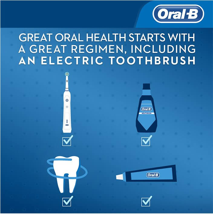 Great oral health starts with a great regimen