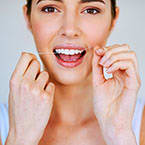 Choosing the right dental floss