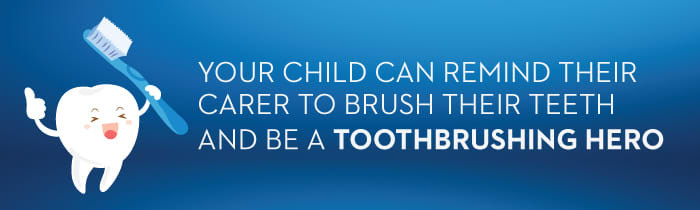 Talking to Carers About Your Child's Teeth