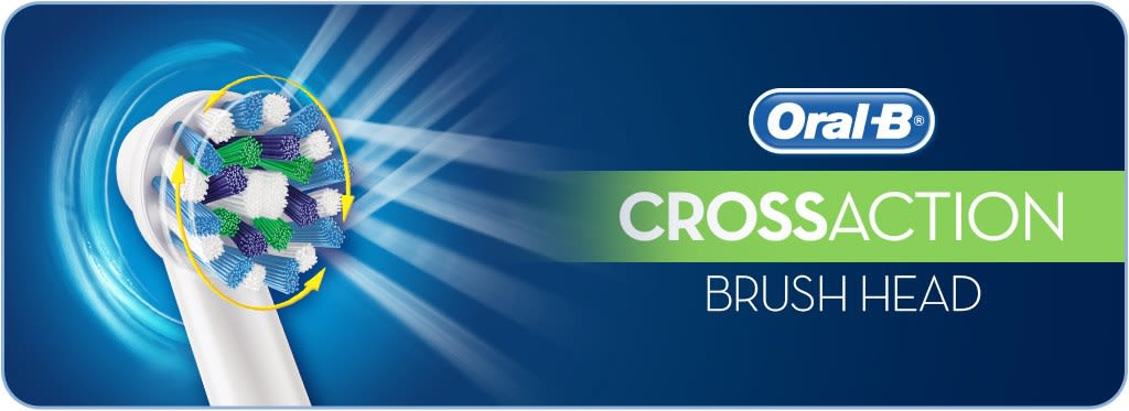 Oral B CrossAction Replacement Brush Head