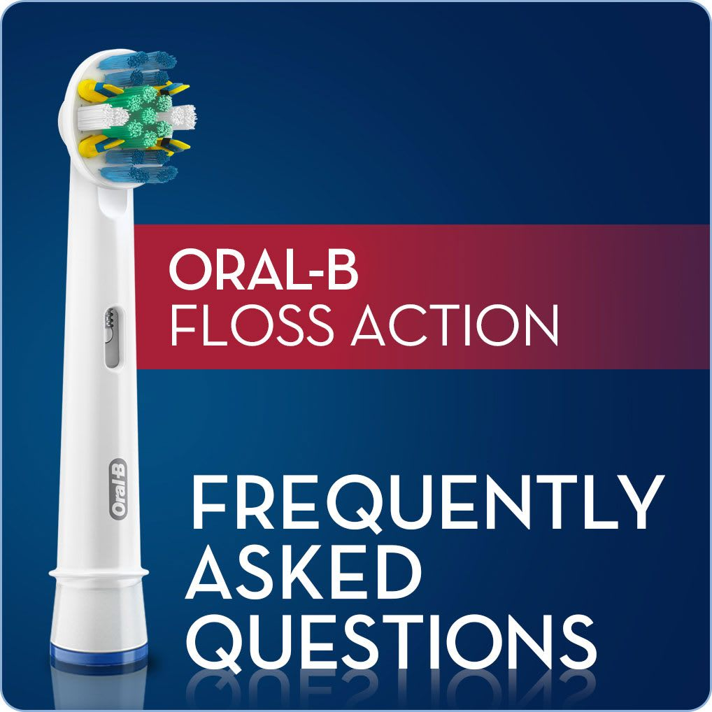 Oral B Floss Action Replacement Brush Head