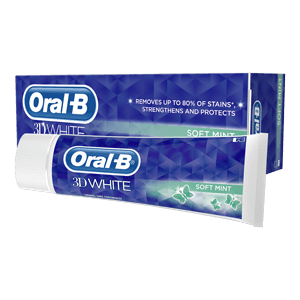 Oral-B 3D White Soft Mint Toothpaste