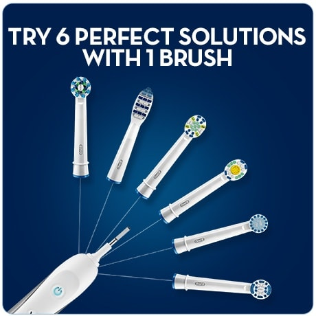 TriZone brush heads