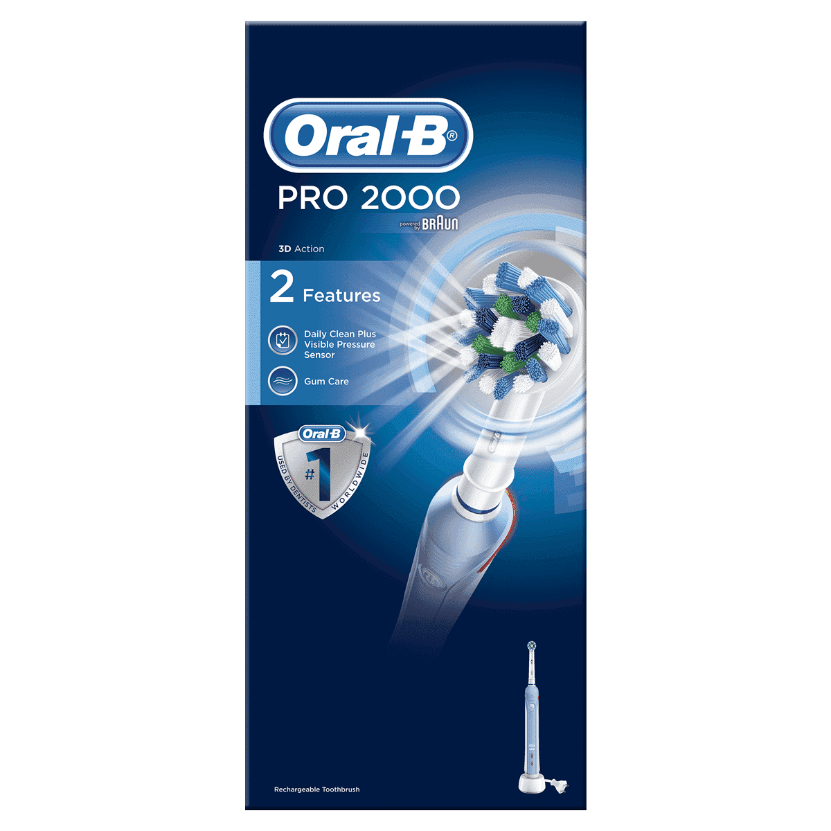 Oral-B PRO 2000 Crossaction Electric Toothbrush