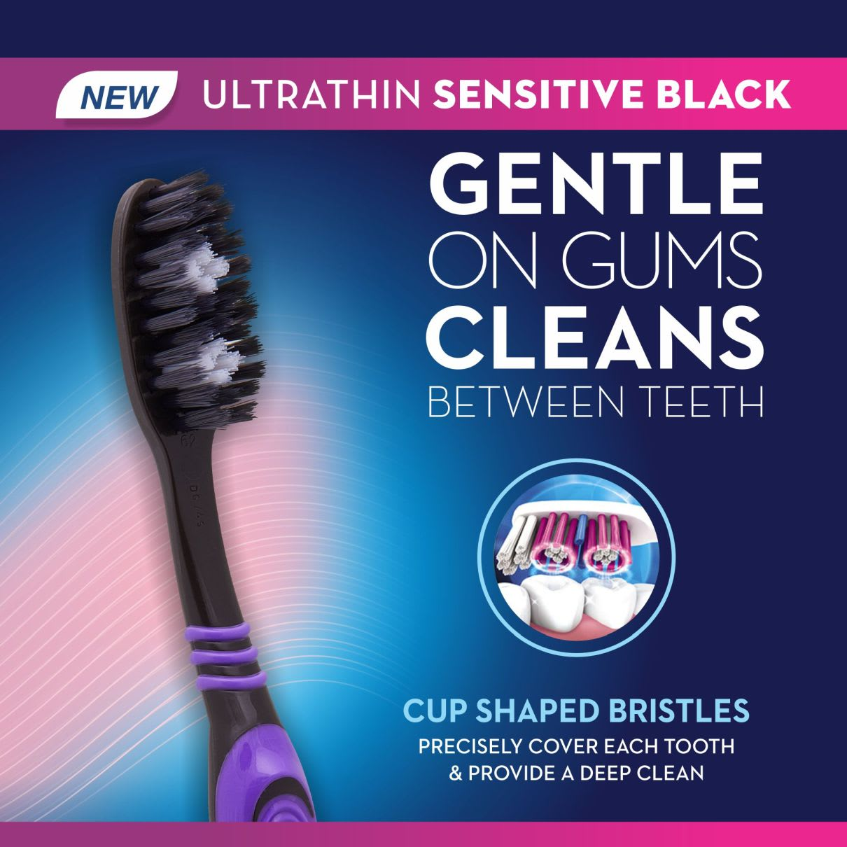 Oral-B Ultrathin Sensitive Black toothbrush
