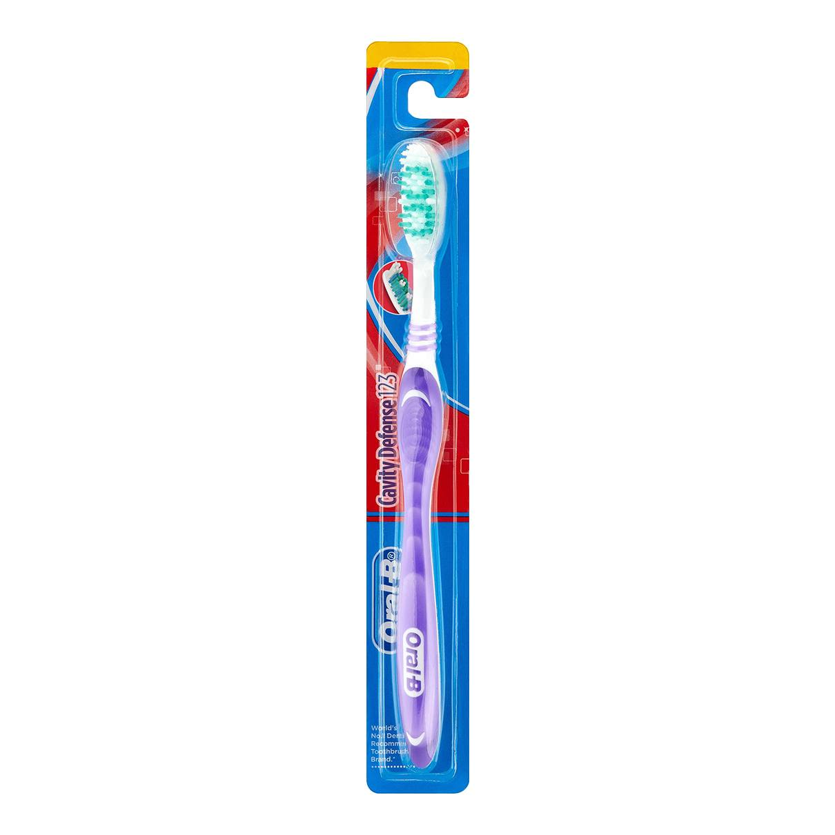 Oral-B Cavity Defense 123 toothbrush
