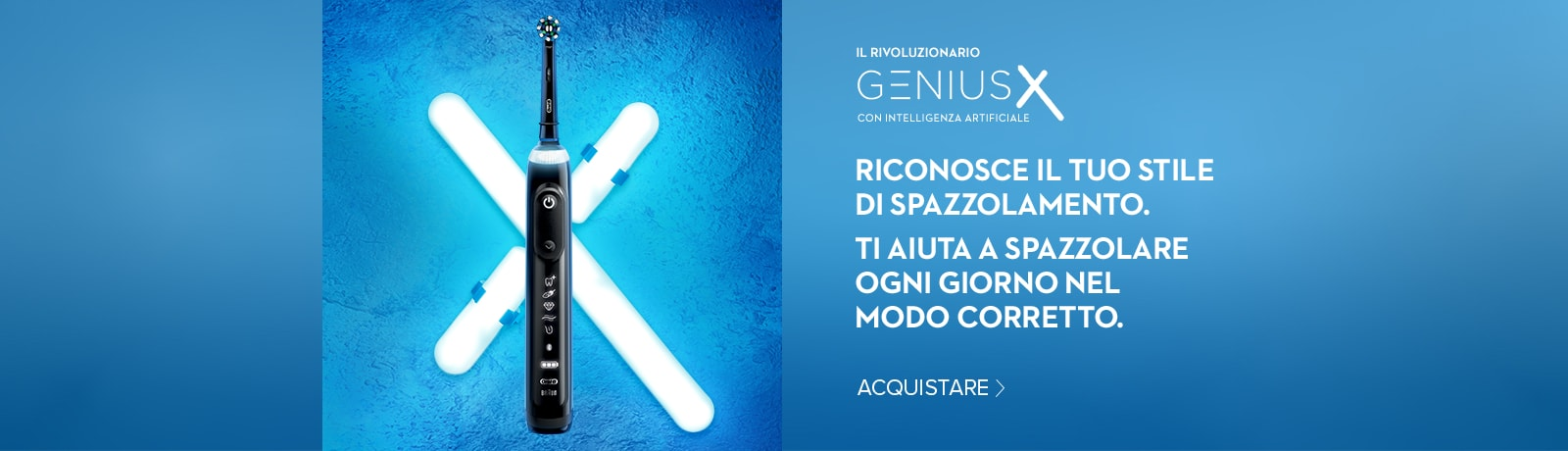 Oral-B Genius X con Intelligenza Artificiale