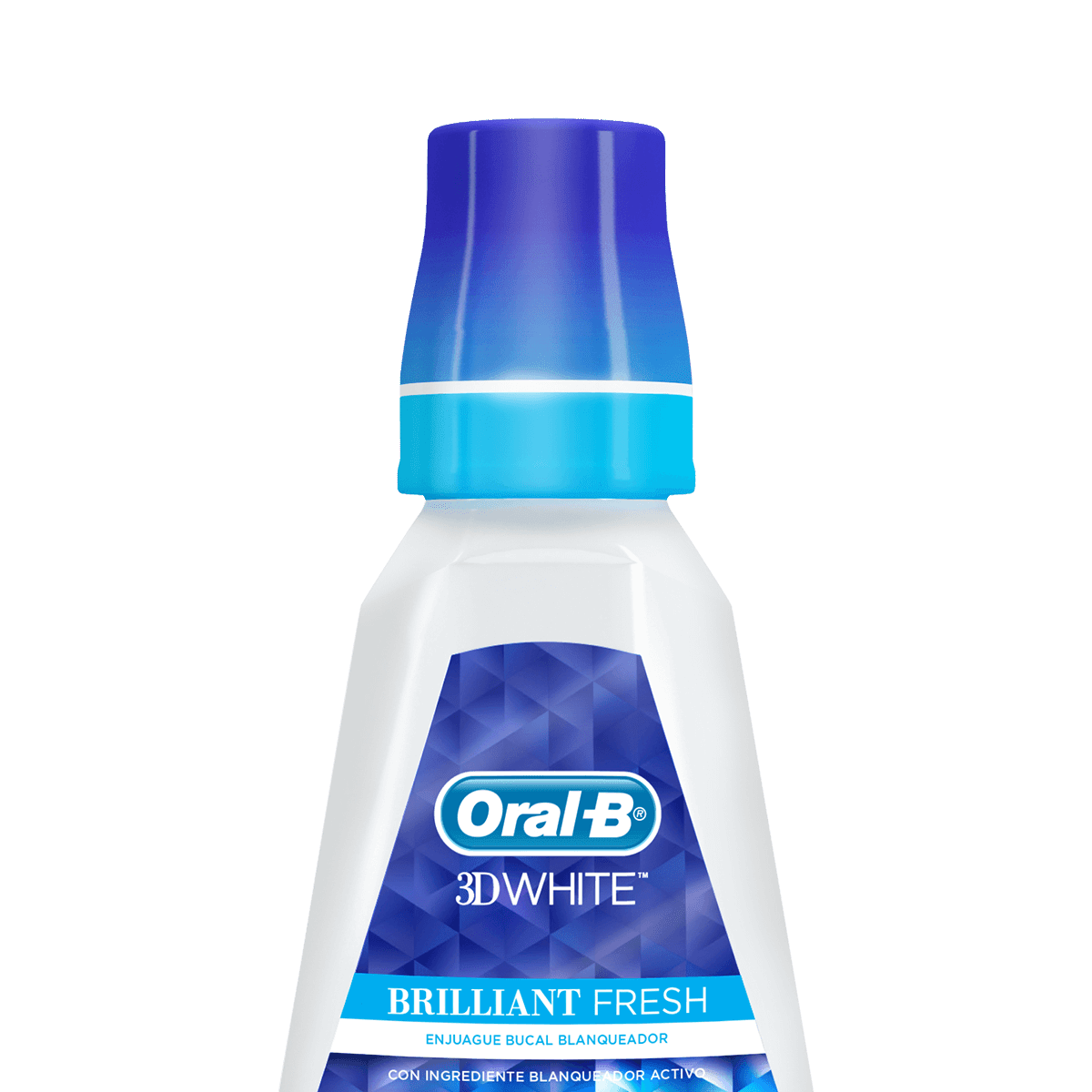 Enjuague Bucal Oral-B 3DWhite Brilliant Fresh