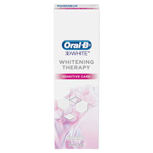 Pasta Dental Oral-B Whitening Therapy Sensitive Care