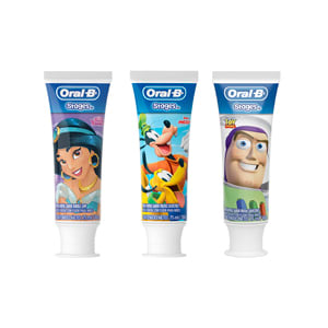 Pasta Dental Oral-B Pro Salud Stages (Toy Story, Princesas, Mickey)