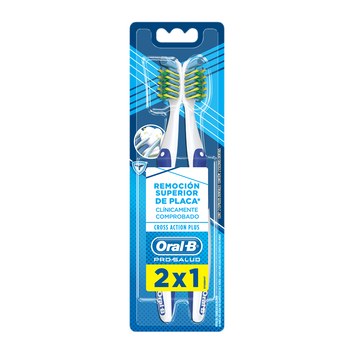 Cepillo Dental Oral-B Cross Action Plus