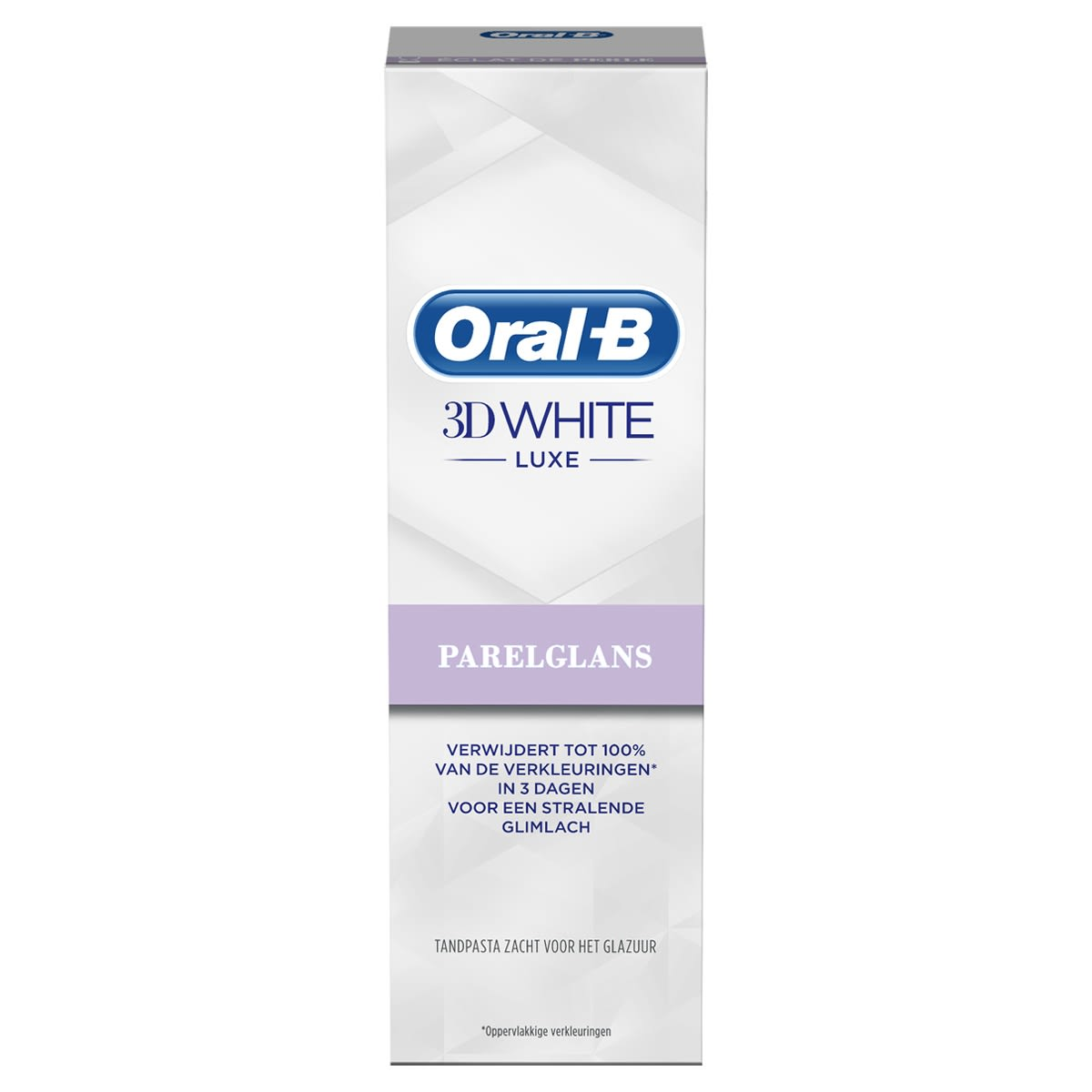 Oral-B 3D White Luxe Parelglans Tandpasta 75ml