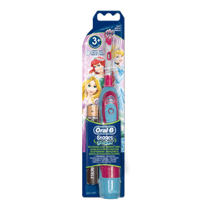 Oral-B Stages Power Kids tandenborstel op batterijen met Disney Cars of Princess