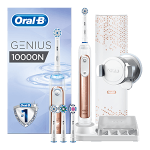 Oral-B Genius 10000 CrossAction Rose Goud | Oral-B