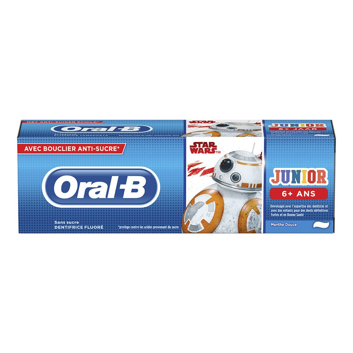 Oral-B Junior 6+ Tandpasta Star Wars | Oral-B
