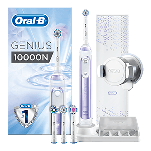 Oral-B Genius 10000 CrossAction Orchid Paars | Oral-B