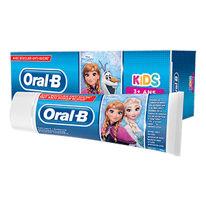 Oral-B Kids 3+ Frozen Tandpasta | Oral-B