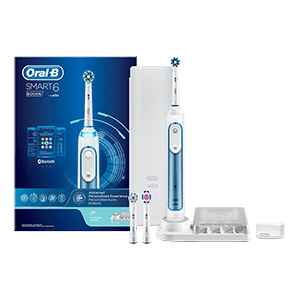 Oral-B Smart 6000 CrossAction Blauw | Oral-B