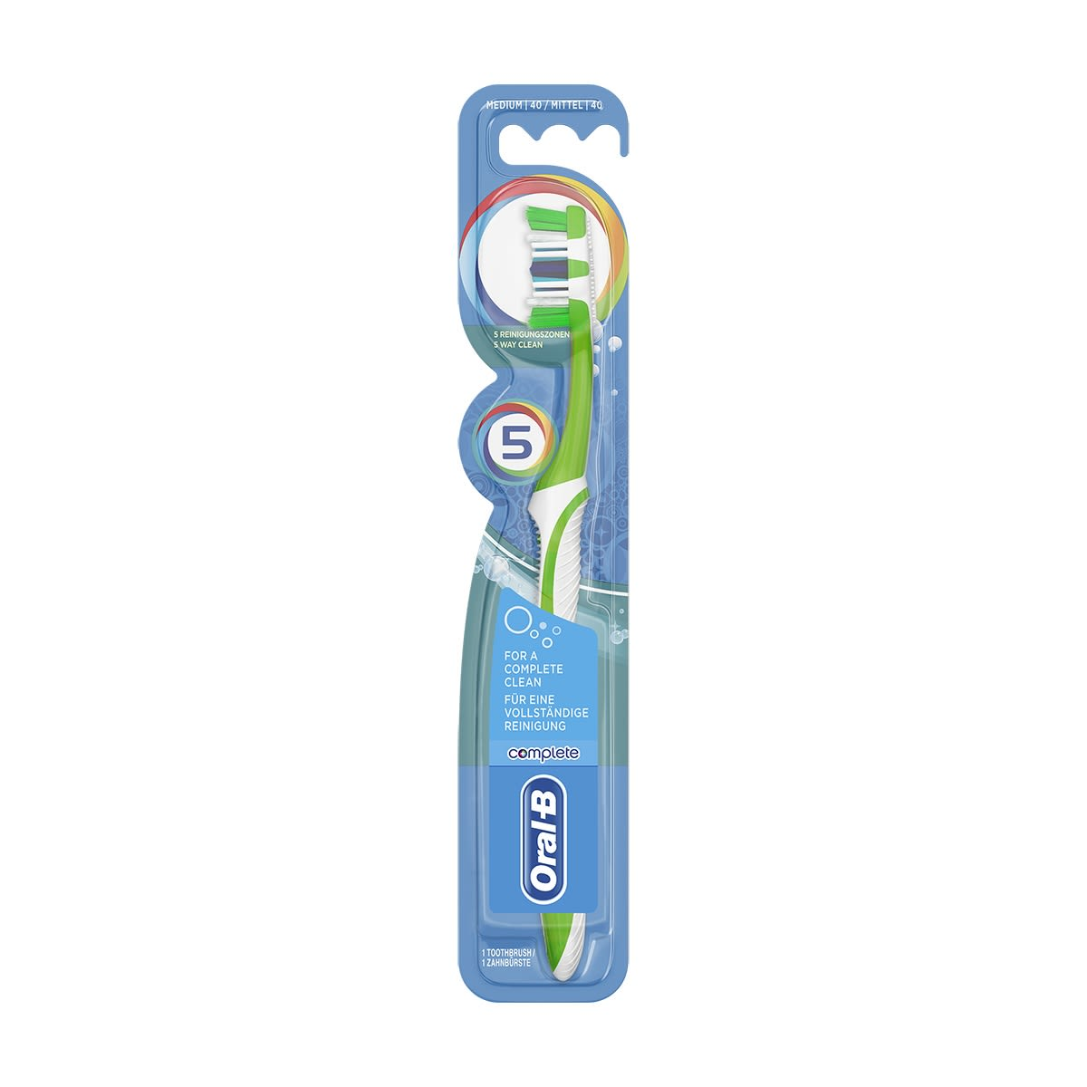 Oral-B Complete manuell tannbørste 5-Way Clean