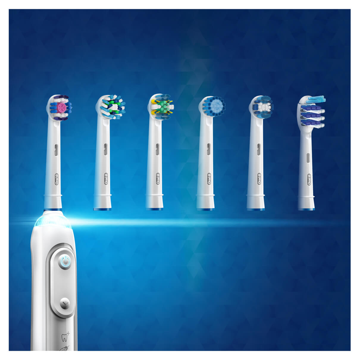 OralB Precision Clean 4 + 1 Floss Action refill borstehoder