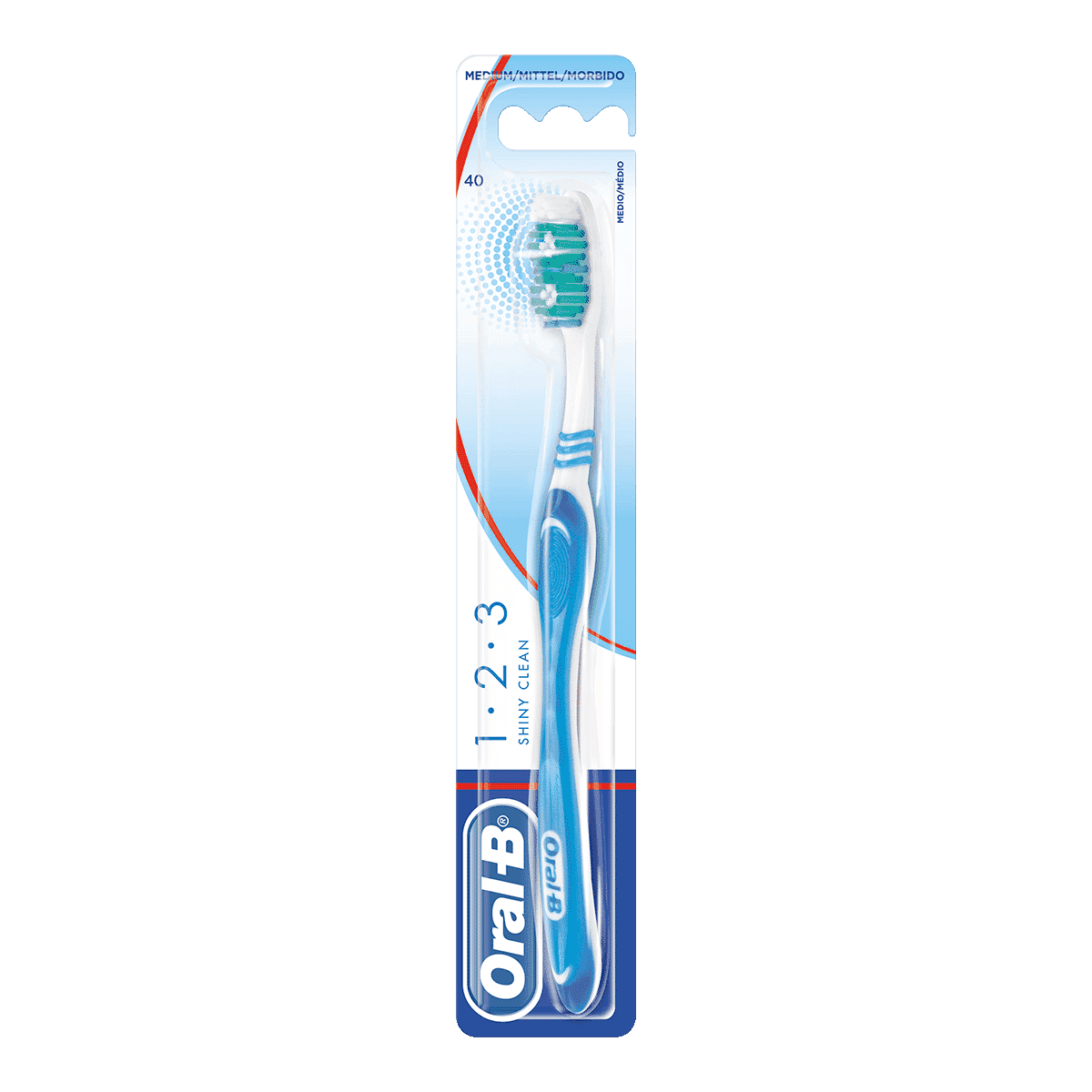 Oral-B 123 Shiny Clean Toothbrush