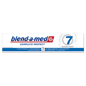 Blend-a-med Complete Protect 7 Crystal White Pasta do zębów