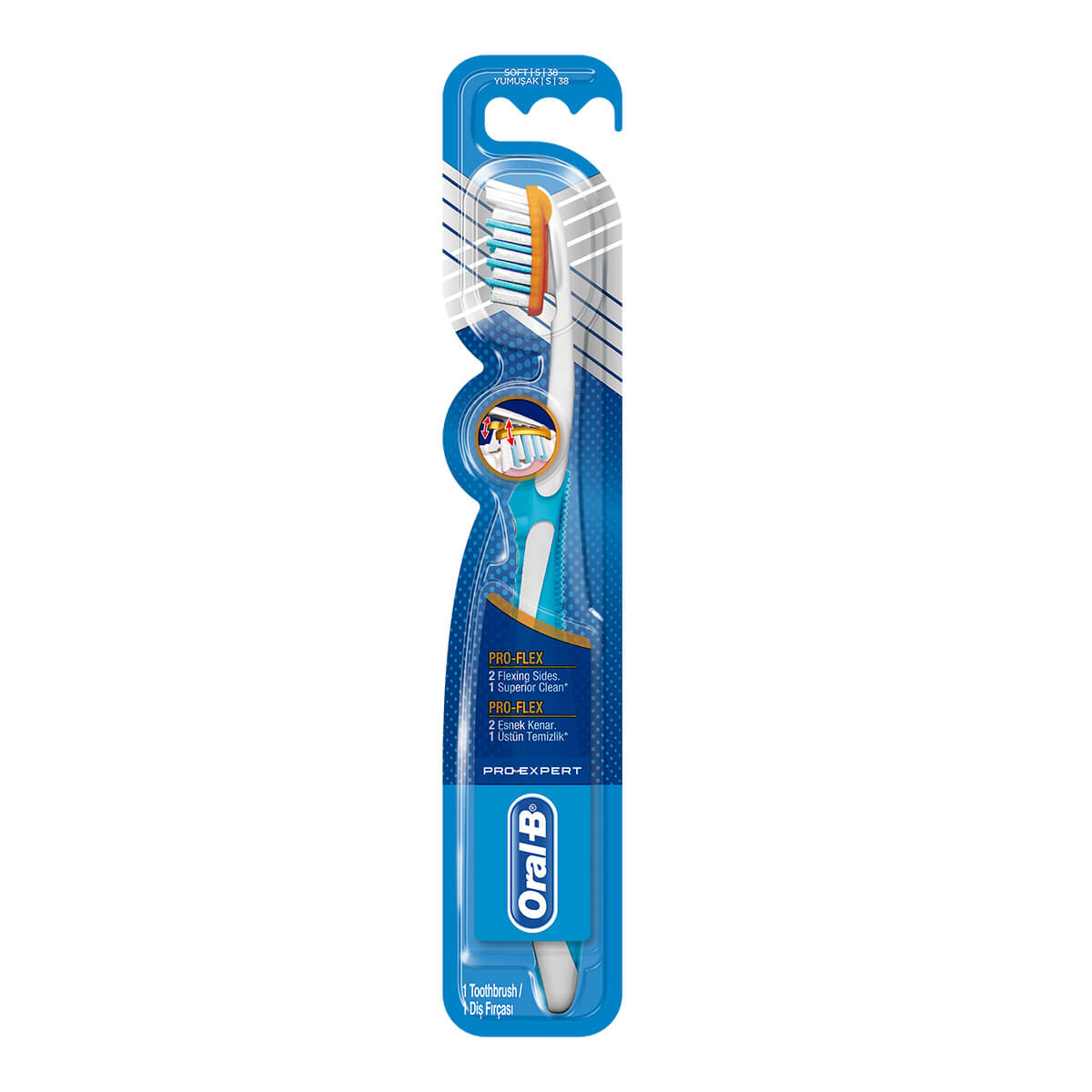 Oral-B Pro-Expert Clinic Line Pro-Flex Manual Toothbrush