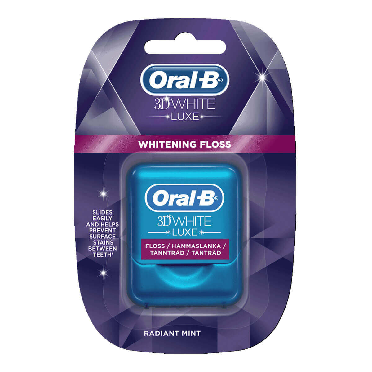 Oral-B 3D White Luxe Whitening tandtråd
