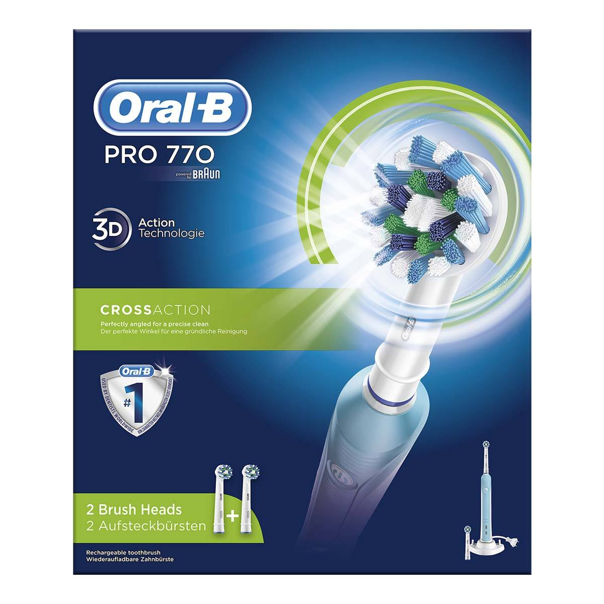 Oral-B Pro 770 CrossAction eltandborste