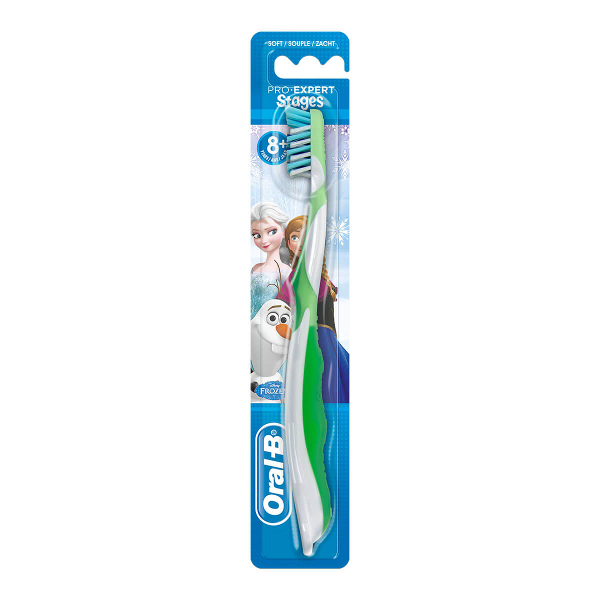 Oral-B Pro-Expert Stages Kids Manual Toothbrush featuring Disney Frozen