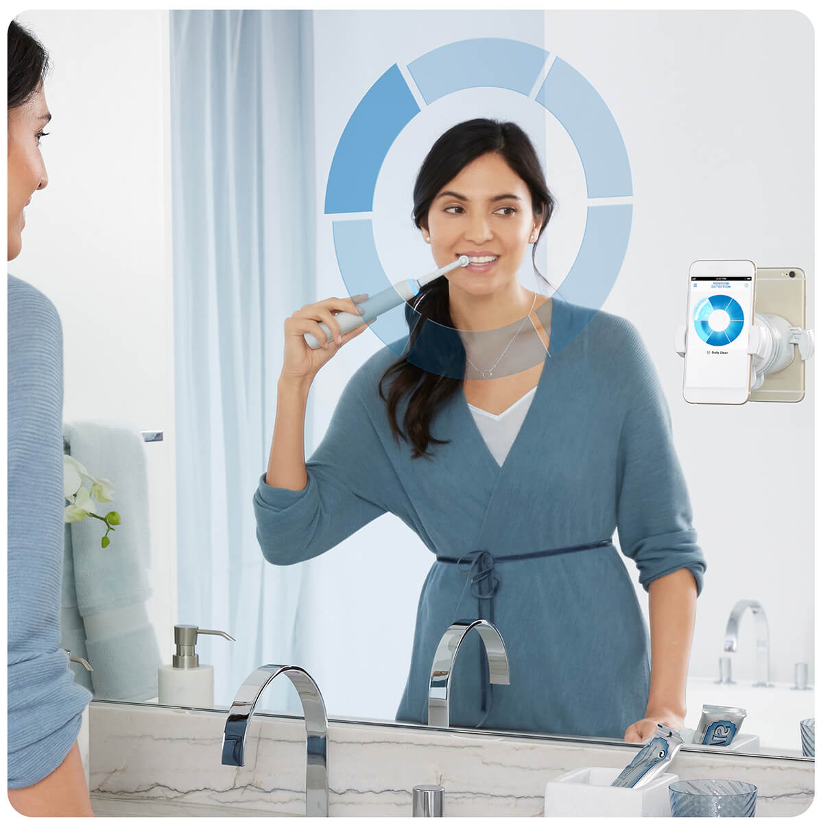 Oral-B Genius 8000N White electric toothbrush