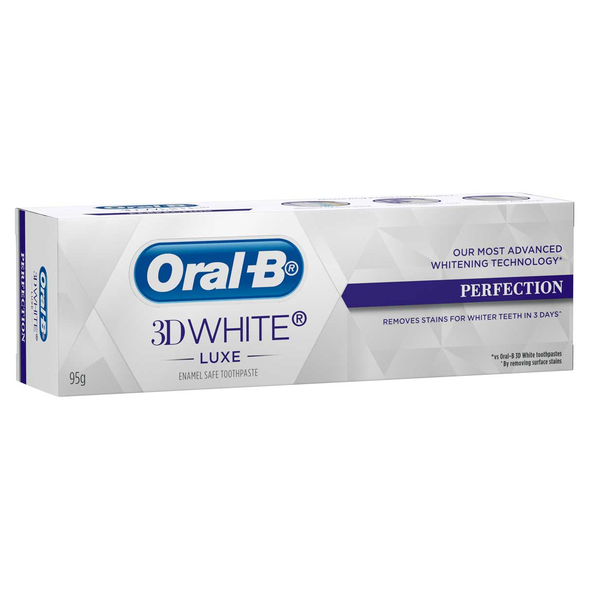 Oral-B 3D White Perfection Carton Horizontal
