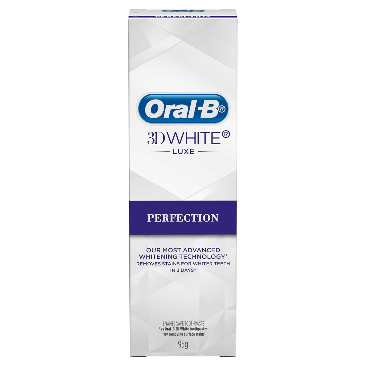 Oral-B 3D White Perfection Carton Vertical FOP