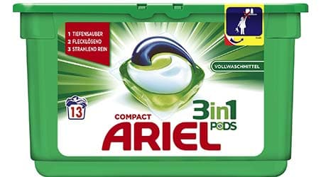 Packaging of Ariel 3in1