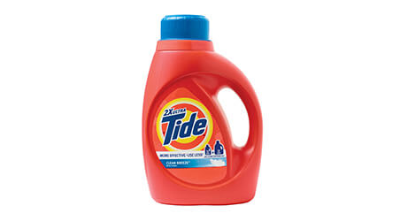 Tide product bottle