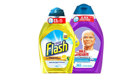 Mr. Clean Product Package