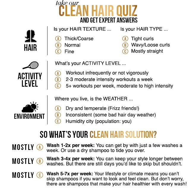 Take our Clean Hair Quiz and Get Expert Answers