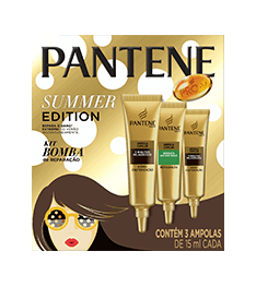 Kit Ampollas Summer Edition Pantene