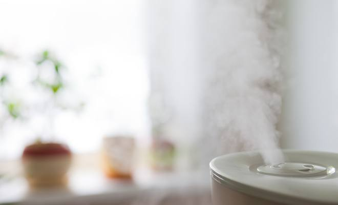 Use an air purifier to get rid of a cold