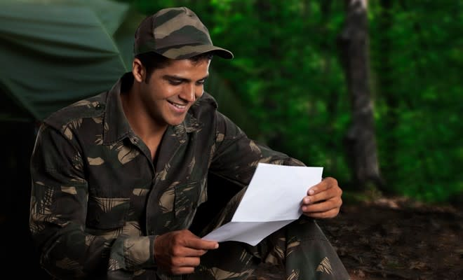 Military Letters are great for care packages for troops