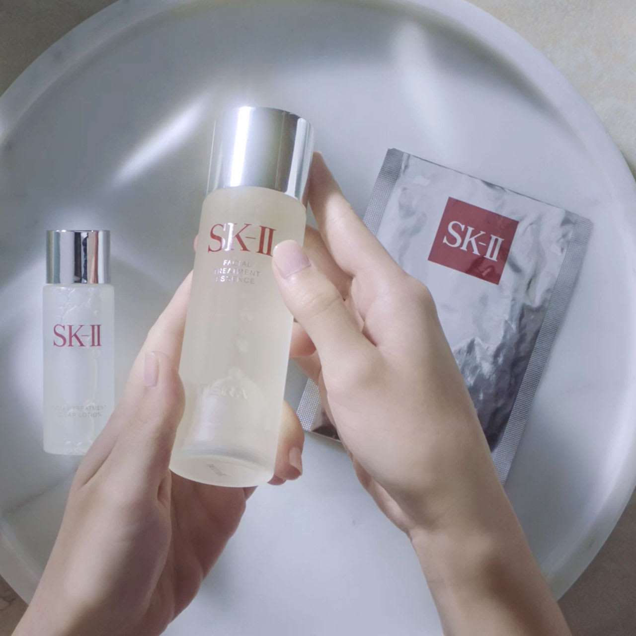 How To Apply SK-II Facial Treatment Essence