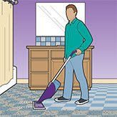 Swiffer WetJet Wood, Cleans Different Floor Types