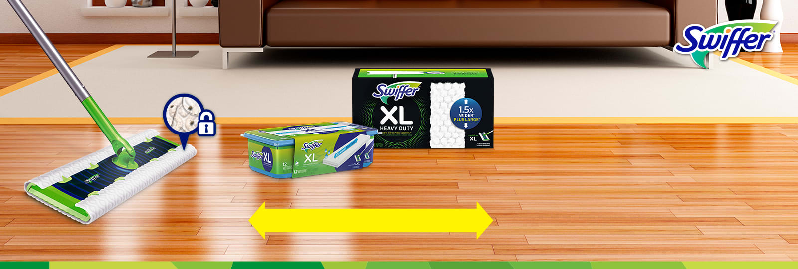 Swiffer Sweeper XL Doesn't let Messes Overstay Their Welcome