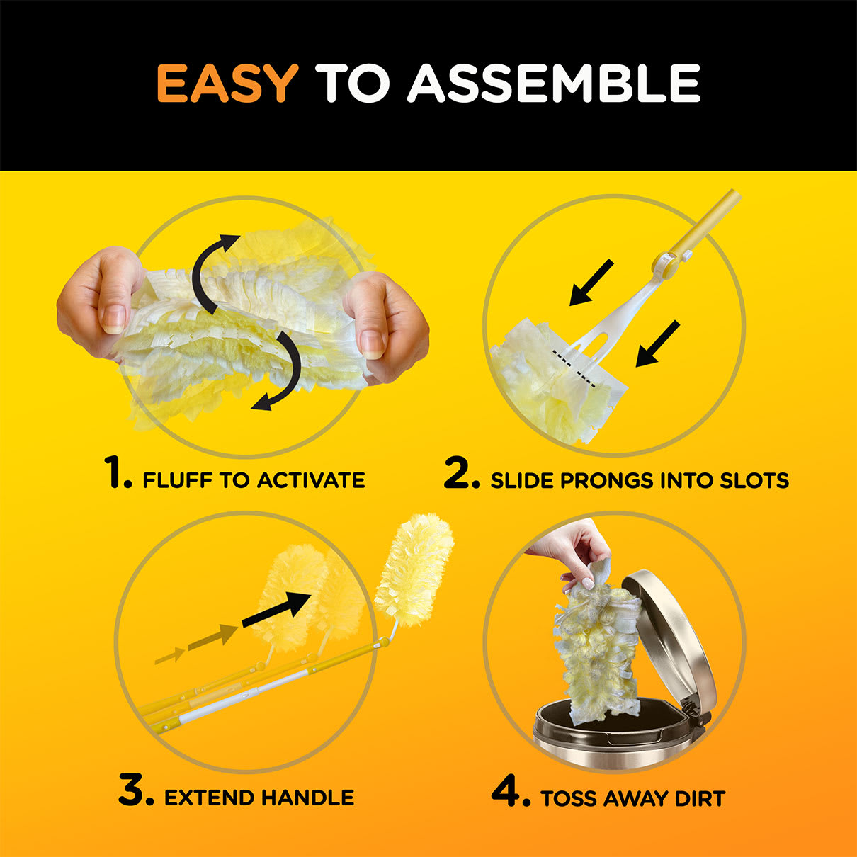 Swiffer Duster Easy To Assemble