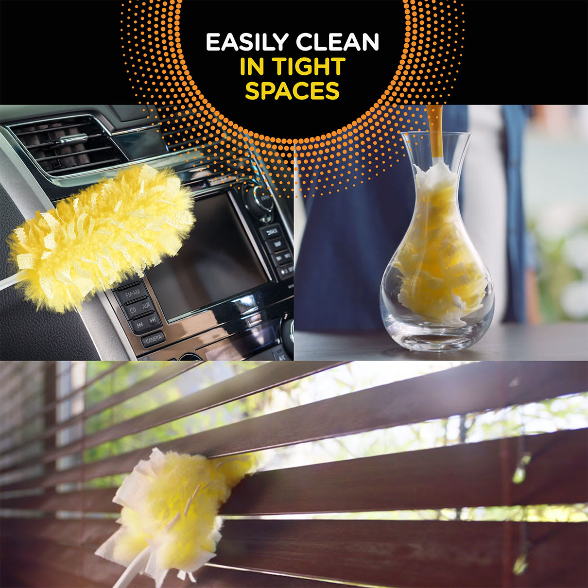 Swiffer Duster Easy Cleaning in Tight Spaces