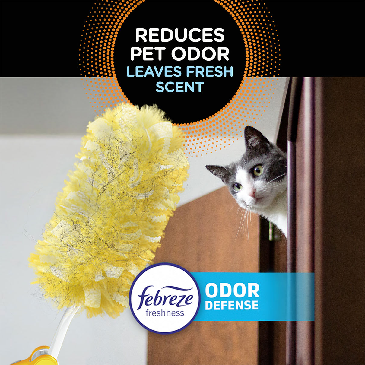 Swiffer Duster Reduces Pet Odor and Leaves Fresh Scent